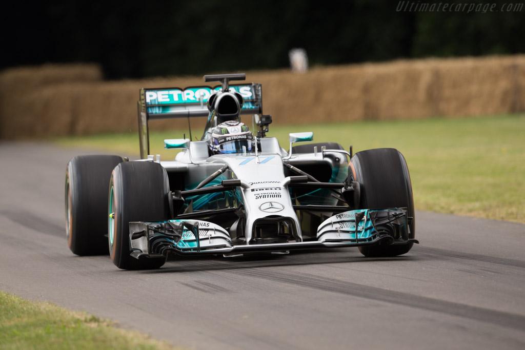 Mercedes-Benz W04  - Driver: Valtteri Bottas  - 2017 Goodwood Festival of Speed