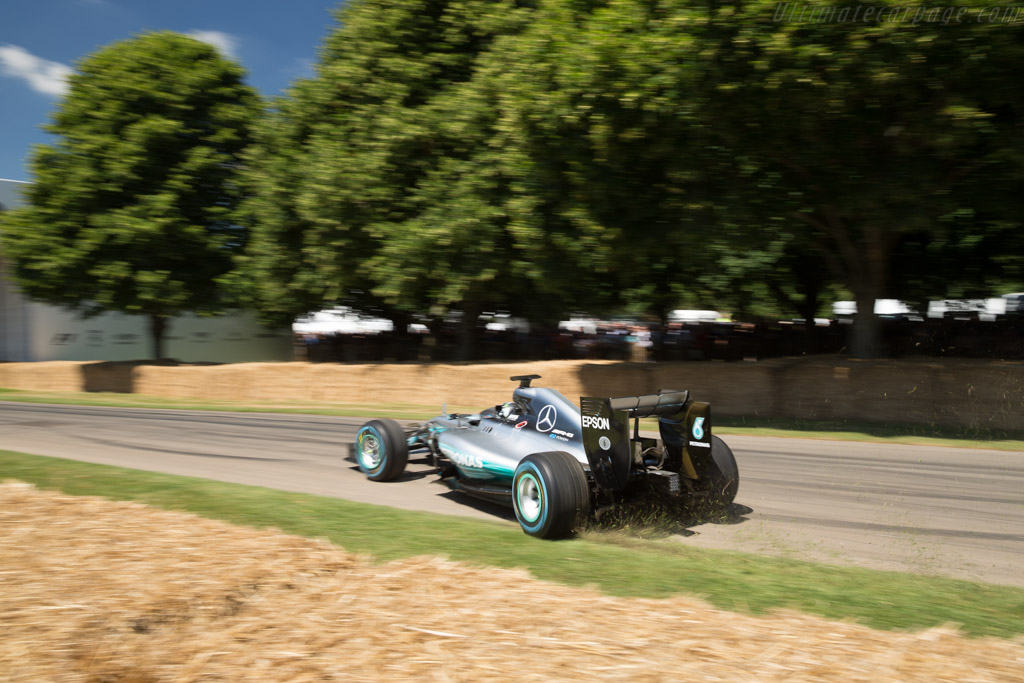 Mercedes-Benz W04  - Driver: Nico Rosberg  - 2017 Goodwood Festival of Speed