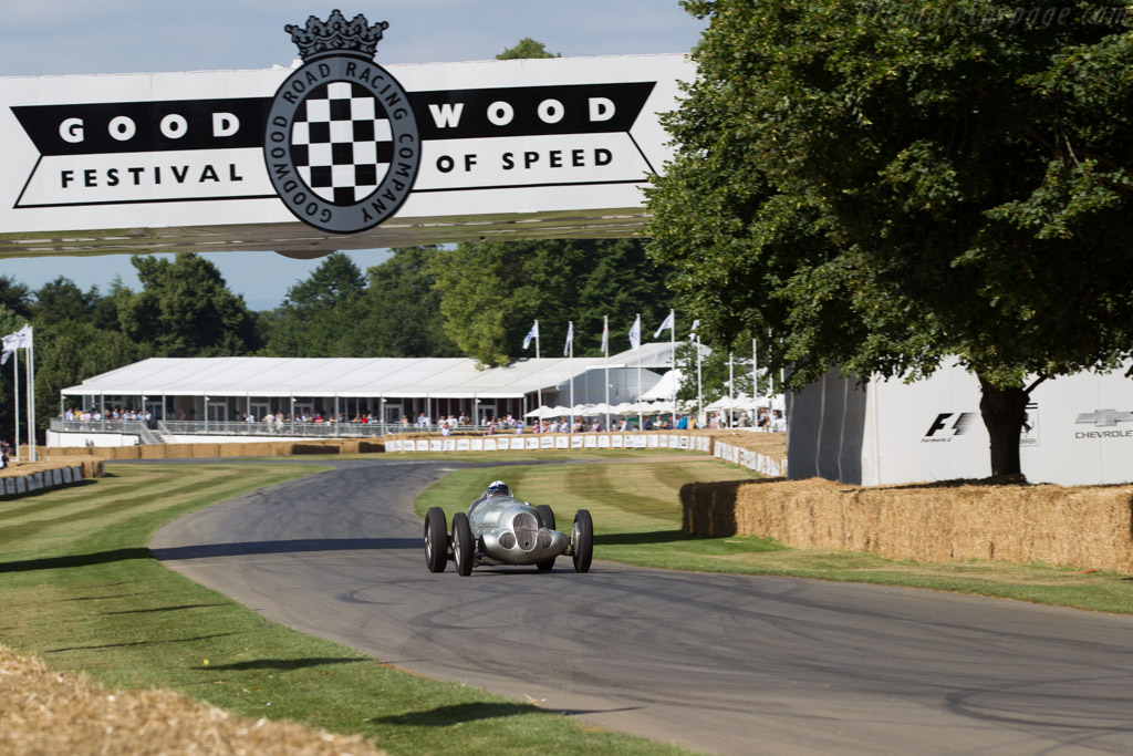 Mercedes-Benz W125 - Chassis: 166369 - Entrant: Mercedes Benz Classic - Driver: Jochen Mass  - 2017 Goodwood Festival of Speed