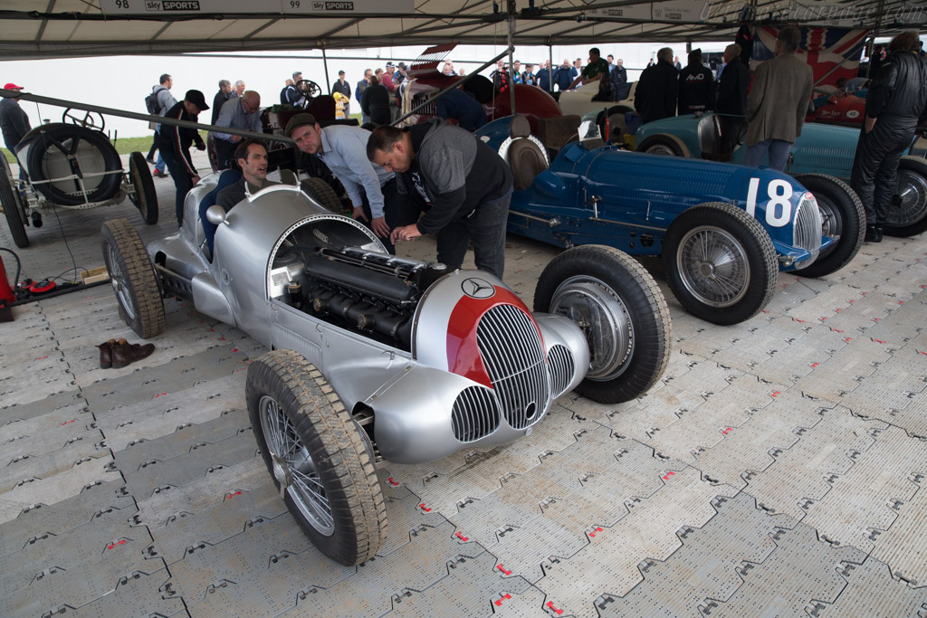 Mercedes-Benz W125 - Chassis: 190815 - Driver: Martin Viessmann  - 2017 Goodwood Festival of Speed