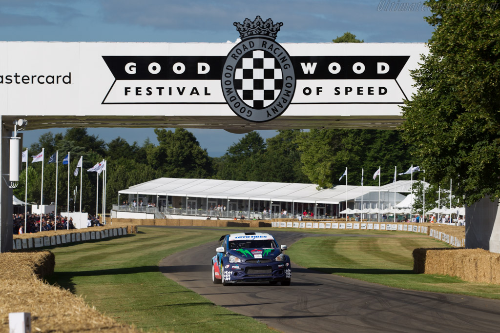 Mitsubishi Mirage RX  - Driver: James Grint  - 2017 Goodwood Festival of Speed
