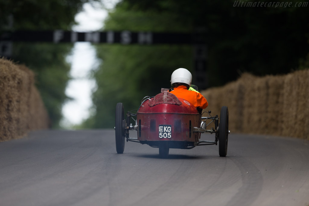 Morgan Aero  - Entrant: Jeremy Larke - Driver: Jeremy Larke / Alex Larke  - 2017 Goodwood Festival of Speed