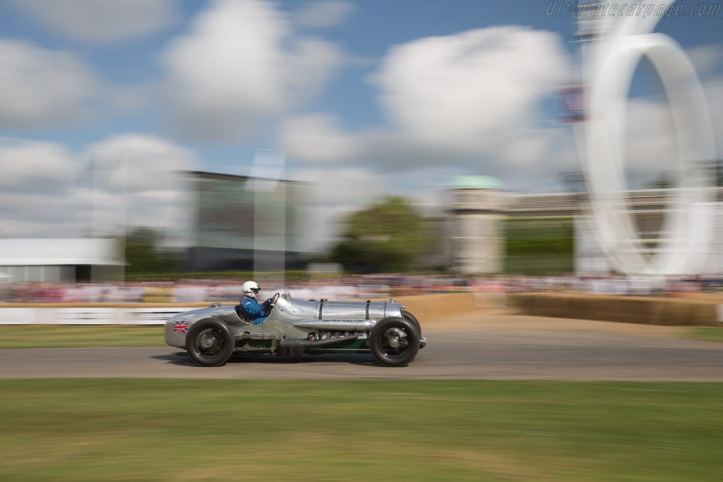 Napier Railton Special  - Entrant: Brooklands Museum Trust - Driver: Allan Winn  - 2017 Goodwood Festival of Speed