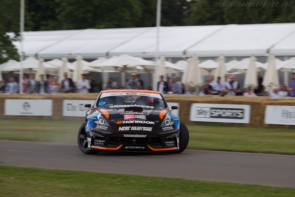 Nissan 370Z  - Entrant / Driver Chris Forsberg  - 2017 Goodwood Festival of Speed