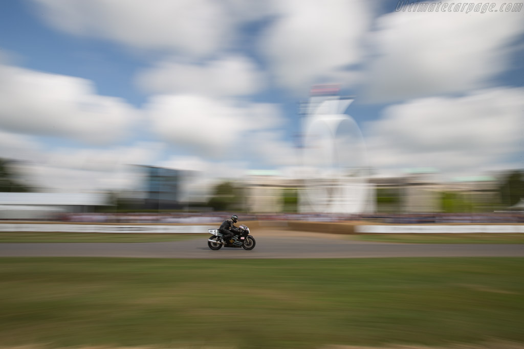 Norton JPS Works Rotary NRS  - Entrant: The National Motorcycle Museum - Driver: Trevor Nation  - 2017 Goodwood Festival of Speed