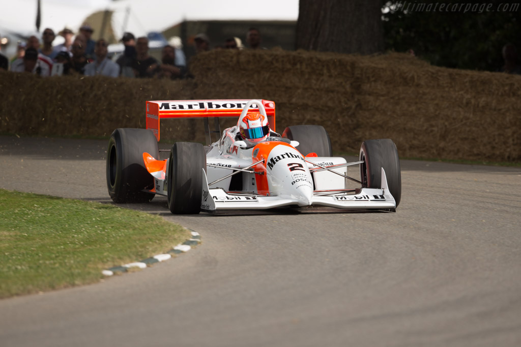 Penske PC22 Chevrolet - Chassis: PC93/001 - Entrant: Anthony Smith - Driver: Jeremy Smith  - 2017 Goodwood Festival of Speed
