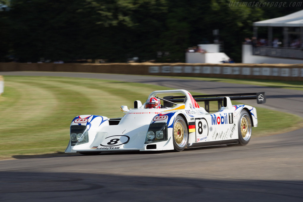 Porsche WSC95 - Chassis: WSC 002 - Entrant: Porsche Museum  - 2017 Goodwood Festival of Speed
