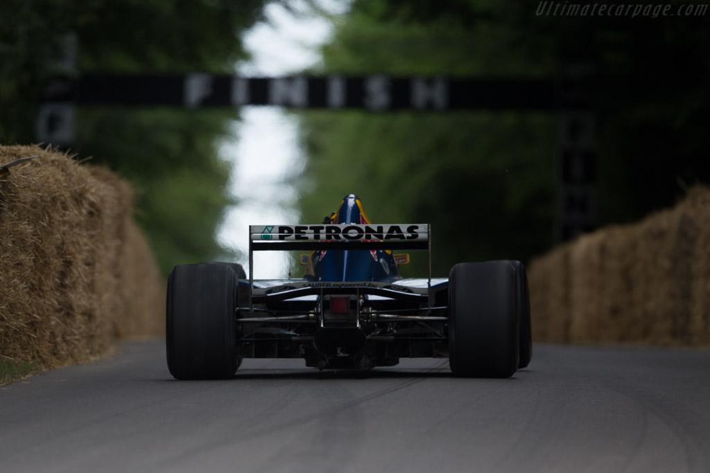 Sauber C14 - Chassis: 95.C14.04 - Driver: Karl Wendlinger  - 2017 Goodwood Festival of Speed