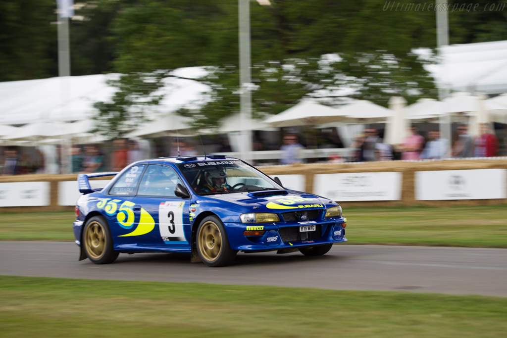 Subaru Impreza WRC97 - Chassis: 019 - Entrant / Driver Steve Rockingham  - 2017 Goodwood Festival of Speed