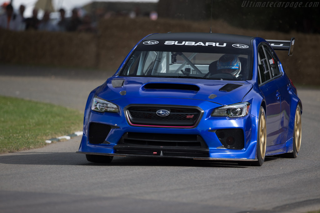 Subaru WRX STI - Chassis: S16-12A-001 - Entrant: Prodrive - Driver: Mark Higgins  - 2017 Goodwood Festival of Speed