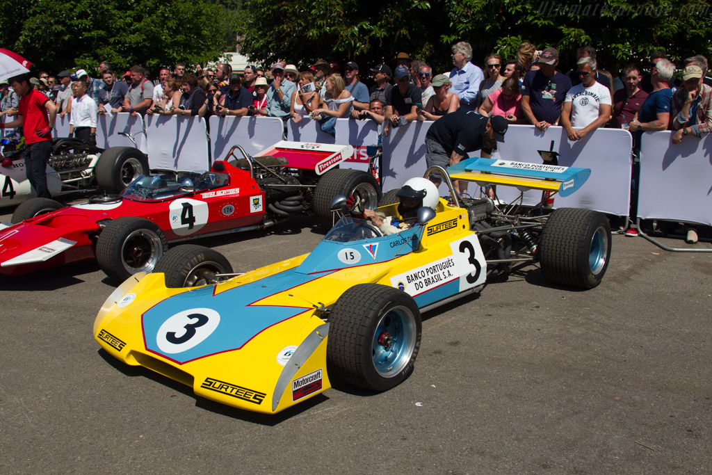 Surtees TS15 - Chassis: EXP - Entrant: Team Surtees Ltd  - 2017 Goodwood Festival of Speed