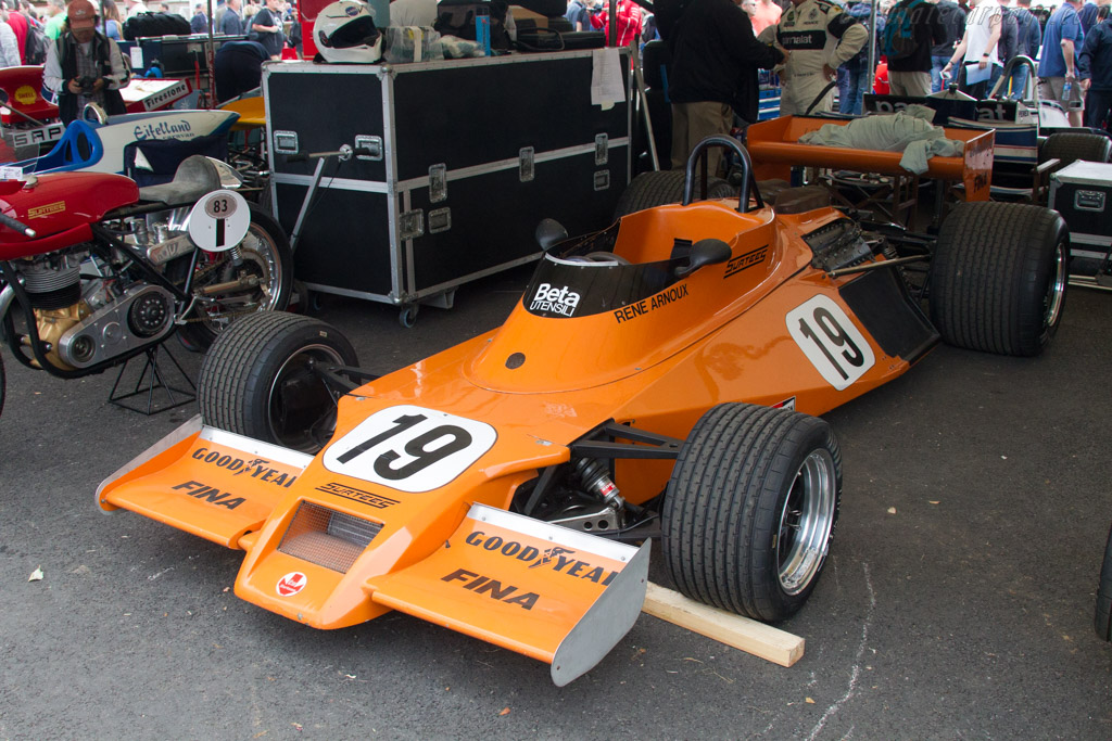 Surtees TS20 - Chassis: TS20-03 - Entrant: Barber Motor Museum - Driver: Lee Clark  - 2017 Goodwood Festival of Speed