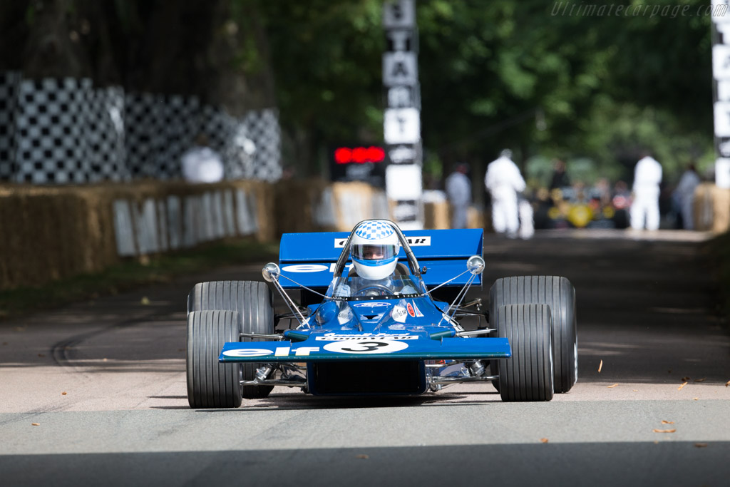 Tyrrell 001 - Chassis: 001 - Driver: Adam Tyrrell  - 2017 Goodwood Festival of Speed