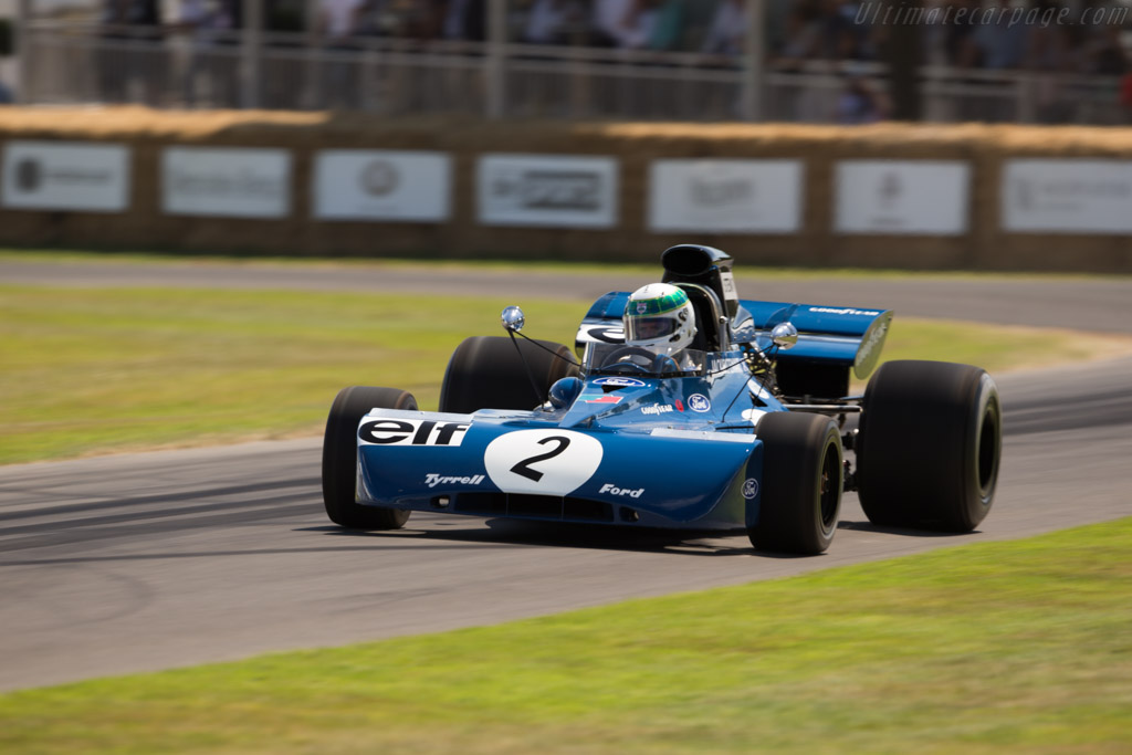 Tyrrell 003 - Chassis: 003 - Driver: Paul Stewart  - 2017 Goodwood Festival of Speed