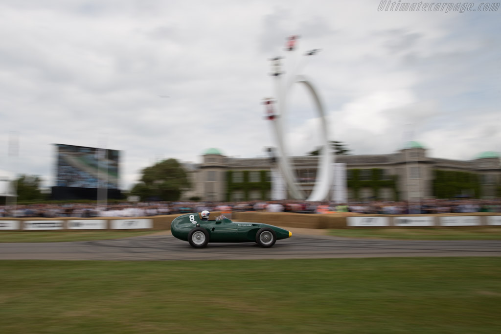 Vanwall - Chassis: VW11 - Entrant: Collier Automotive Museum - Driver: Brian Redman  - 2017 Goodwood Festival of Speed