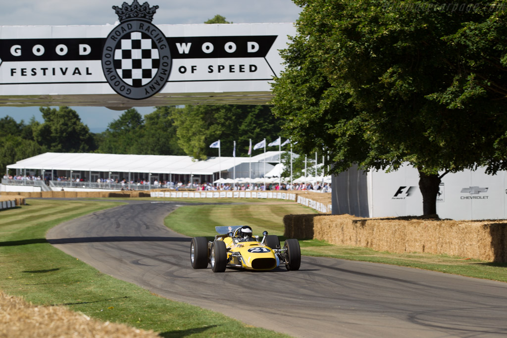 Vollstedt Ford - Chassis: 1 - Entrant / Driver Michael McKinney  - 2017 Goodwood Festival of Speed