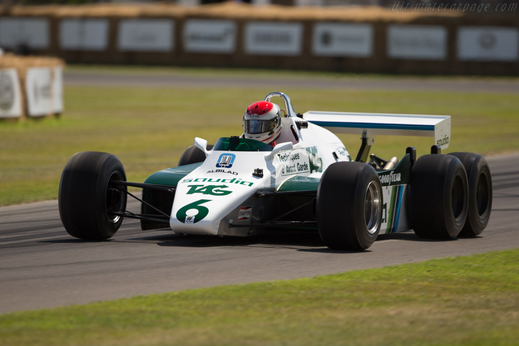 Williams FW08B Cosworth - Chassis: FW08-06 - Entrant: Williams F1 - Driver: Emanuele Pirro  - 2017 Goodwood Festival of Speed