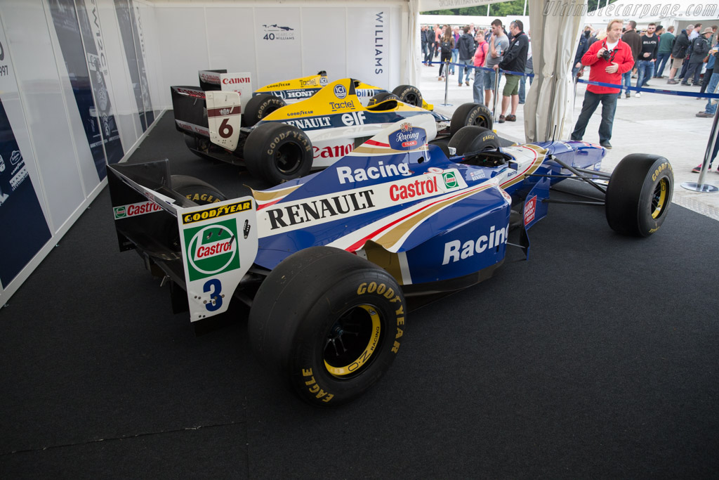 Williams FW19 Renault - Chassis: FW19-04 - Entrant: Williams F1  - 2017 Goodwood Festival of Speed