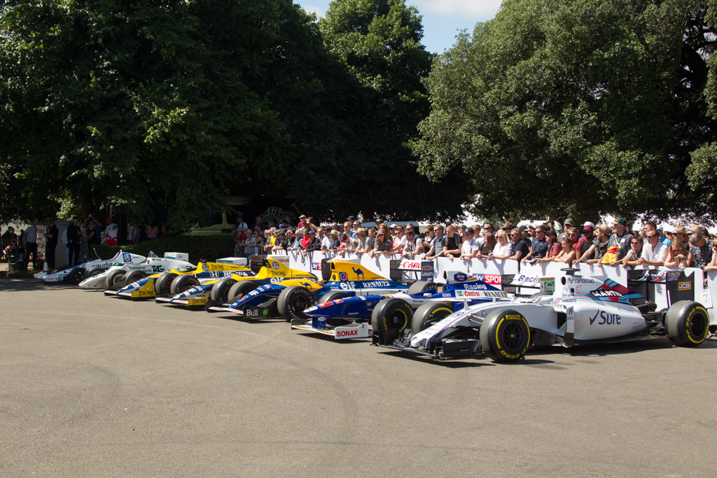 Williams at 40    - 2017 Goodwood Festival of Speed