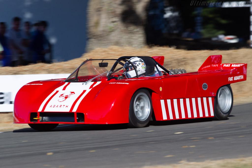 Abarth 3000 V8 - Chassis: SE022.0012 - Entrant: Engelbert Möll - Driver: Jürgen Boden  - 2018 Goodwood Festival of Speed