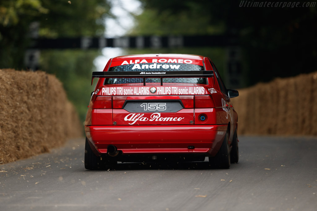 Alfa Romeo 155  - Entrant / Driver Tom Andrew  - 2018 Goodwood Festival of Speed