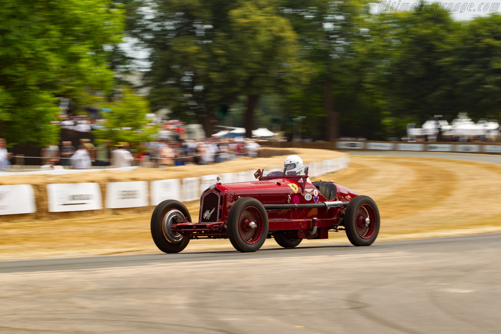 Alfa Romeo 8C 2300 Monza - Chassis: 2211138 - Entrant: Martin Viessman - Driver: Annette Viessman  - 2018 Goodwood Festival of Speed