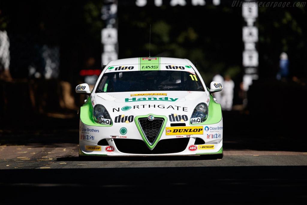 Alfa Romeo Giulietta  - Entrant: HMS Racing - Driver: Rob Austin  - 2018 Goodwood Festival of Speed