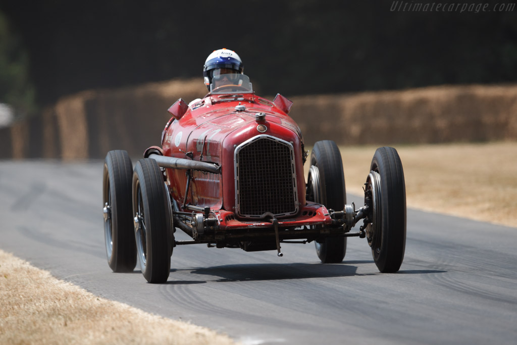 Alfa Romeo Tipo B - Chassis: 50007 - Entrant: Jennie Taylor - Driver: James Wood / Jennie Taylor  - 2018 Goodwood Festival of Speed