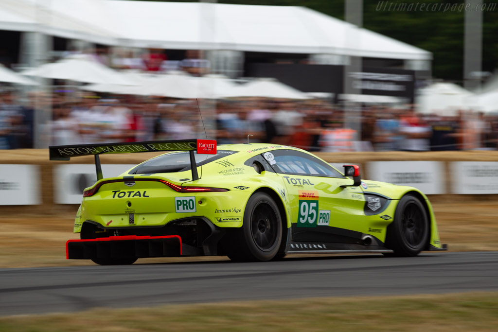 Aston Martin V8 Vantage GTE - Chassis: AMR15A-002-2 - Entrant: Aston Martin Racing - Driver: Nicki Thiim  - 2018 Goodwood Festival of Speed