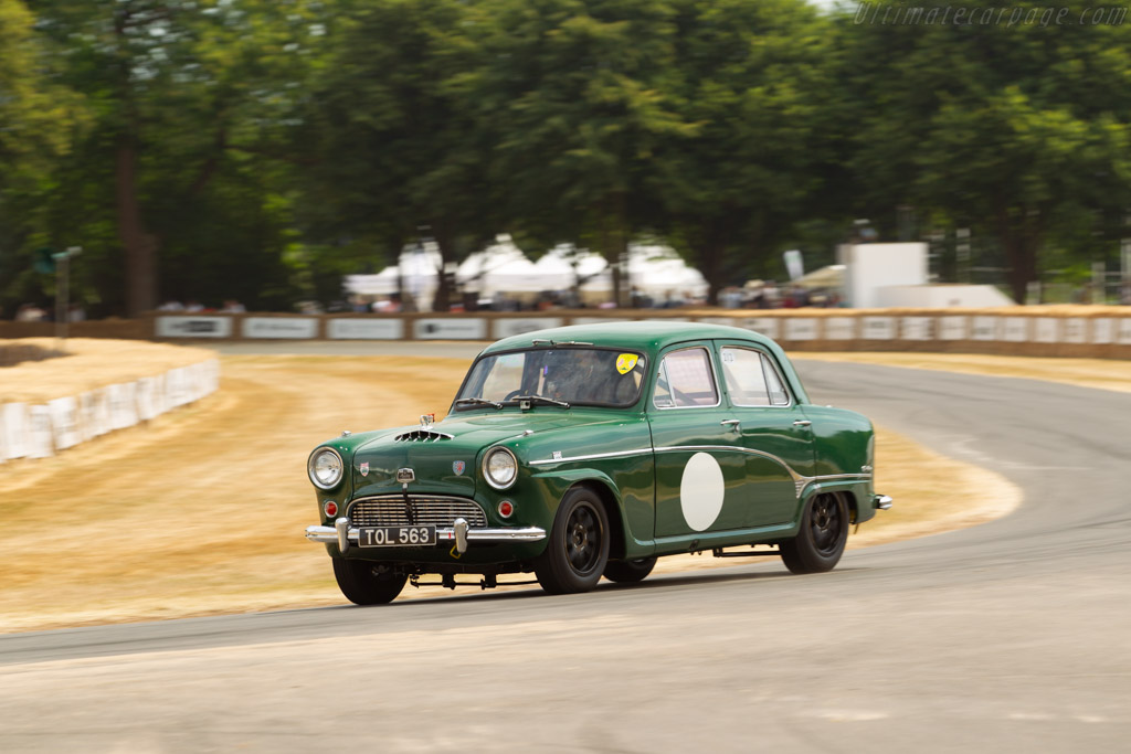 Austin A105  - Entrant / Driver Nick Jarvis  - 2018 Goodwood Festival of Speed