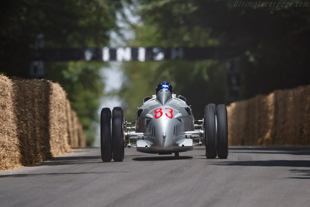 Auto Union Type C  - Entrant: Audi Tradition - Driver: Hans-Joachim Stuck  - 2018 Goodwood Festival of Speed