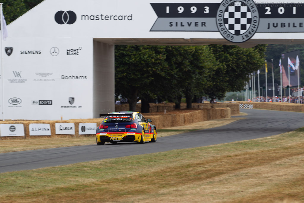 BMW 125i M Sport  - Entrant: West Surrey Racing - Driver: Andrew Jordan  - 2018 Goodwood Festival of Speed