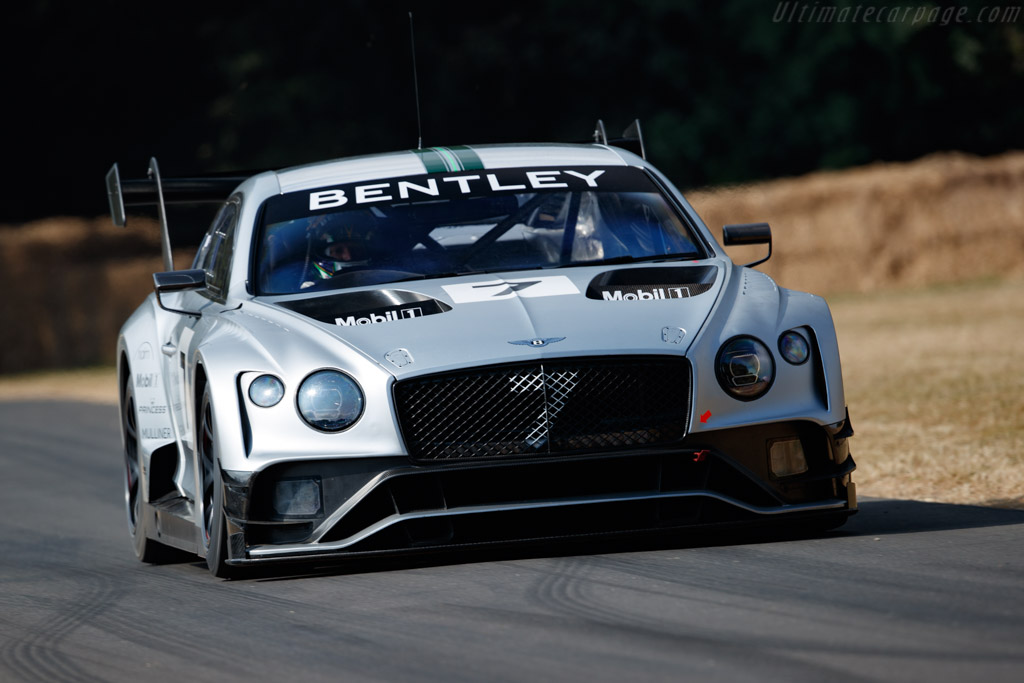 Bentley Continental GT3 - Chassis: BGT3 G20502/001 - Entrant: Bentley Motors - Driver: Guy Smith  - 2018 Goodwood Festival of Speed