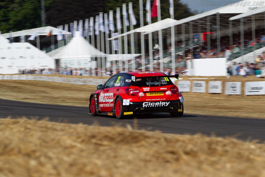 Cicely Motorsport A-Class  - Entrant: Cicely Motorsport - Driver: Adam Morgan  - 2018 Goodwood Festival of Speed