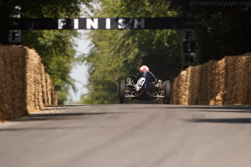 Cooper T43 - Chassis: F2-7-57 - Entrant: Collier Museum - Driver: Martin Brundle  - 2018 Goodwood Festival of Speed