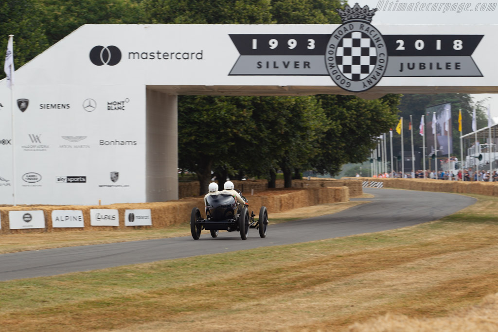 Cottin-Desgouttes GP-Hillclimb  - Entrant / Driver George Wingard  - 2018 Goodwood Festival of Speed
