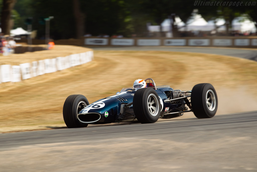 Eagle Mk1 Weslake - Chassis: 104 - Entrant: Collier Museum - Driver: Martin Brundle  - 2018 Goodwood Festival of Speed