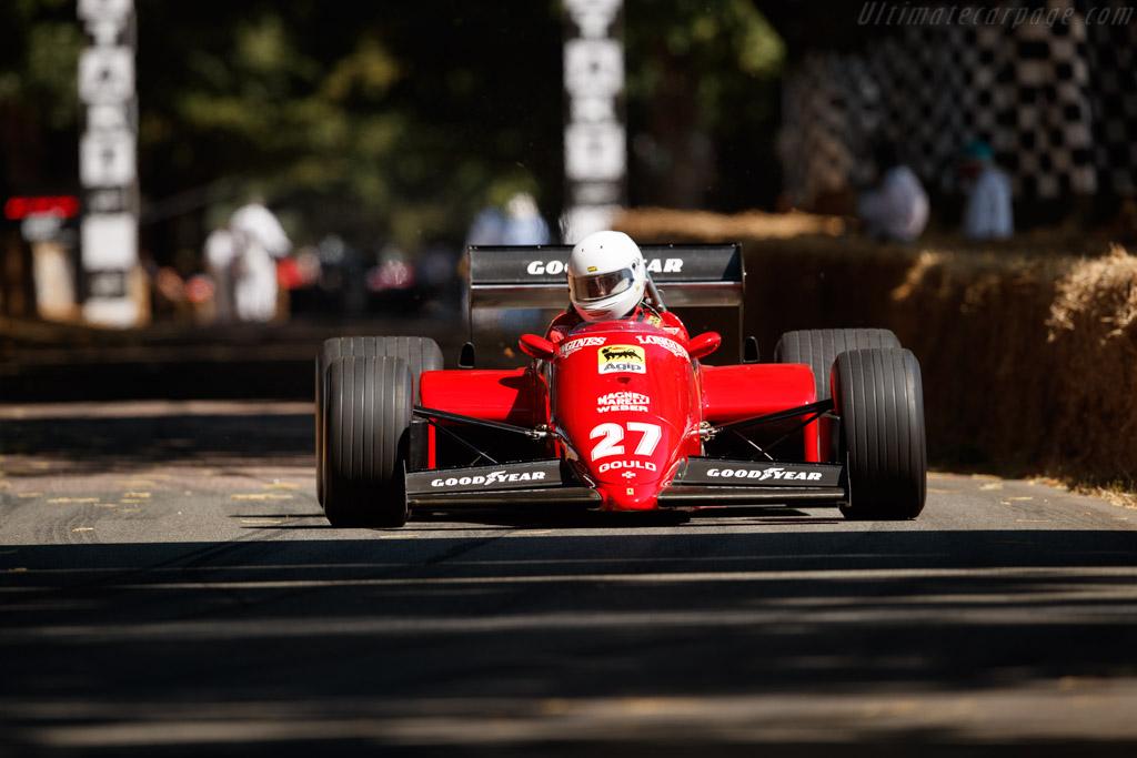 Ferrari 126 C4/M2 - Chassis: 072 - Entrant / Driver Daniel Rollinger  - 2018 Goodwood Festival of Speed