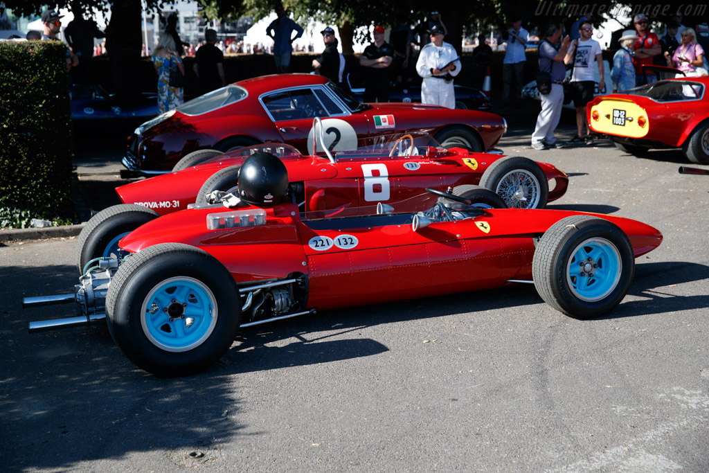 Ferrari 158 F1 - Chassis: 0006 - Entrant: Barber Motorsports Museum - Driver: Lee Clark  - 2018 Goodwood Festival of Speed