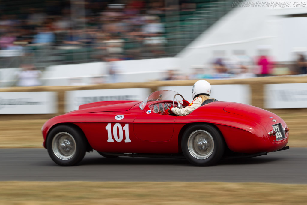 Ferrari 166 MM - Chassis: 0040M - Entrant / Driver Sally Mason-Styrron  - 2018 Goodwood Festival of Speed