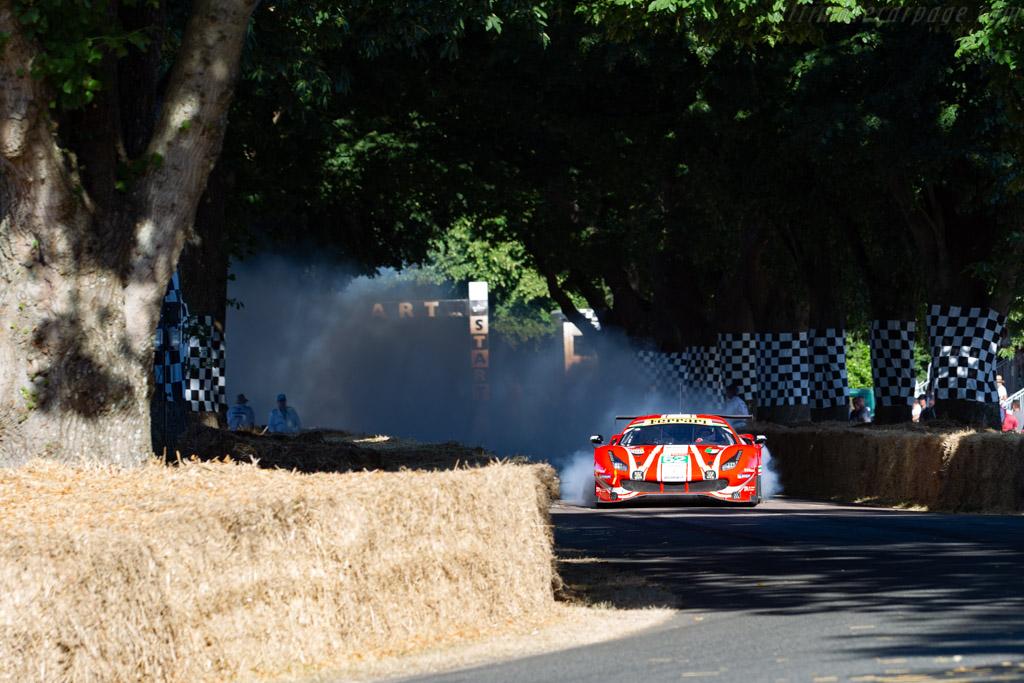 Ferrari 488 GTE - Chassis: 3852 - Entrant: Ferrari North Europe  - 2018 Goodwood Festival of Speed