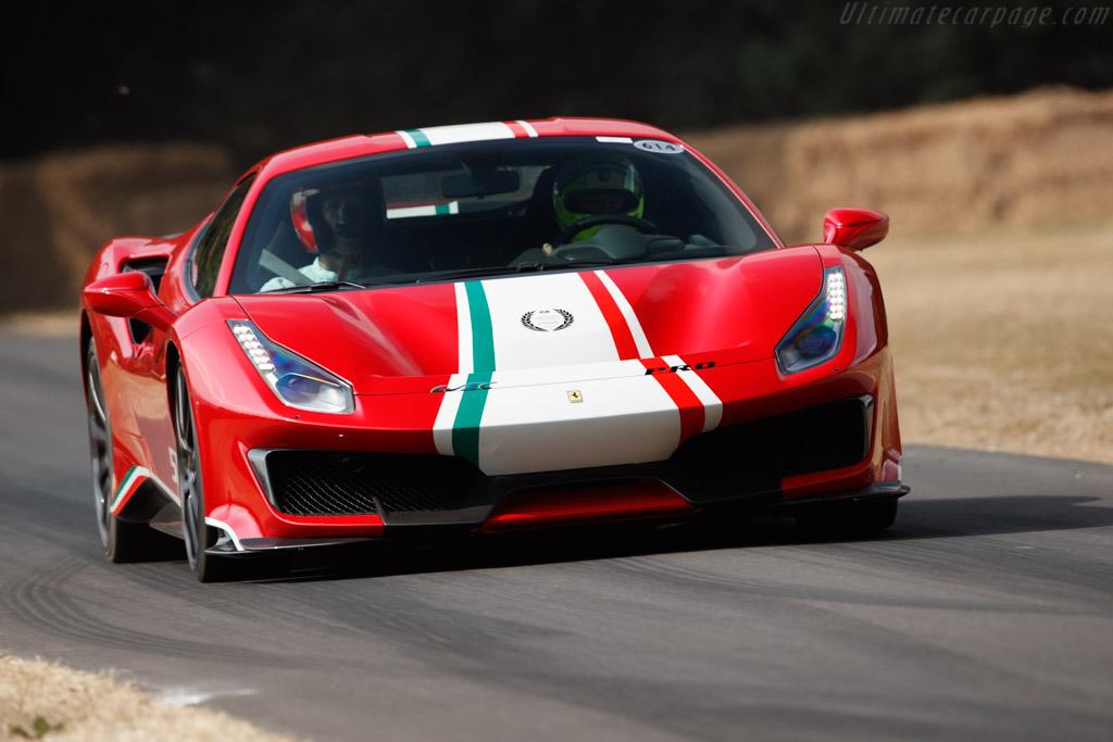Ferrari 488 Pista    - 2018 Goodwood Festival of Speed