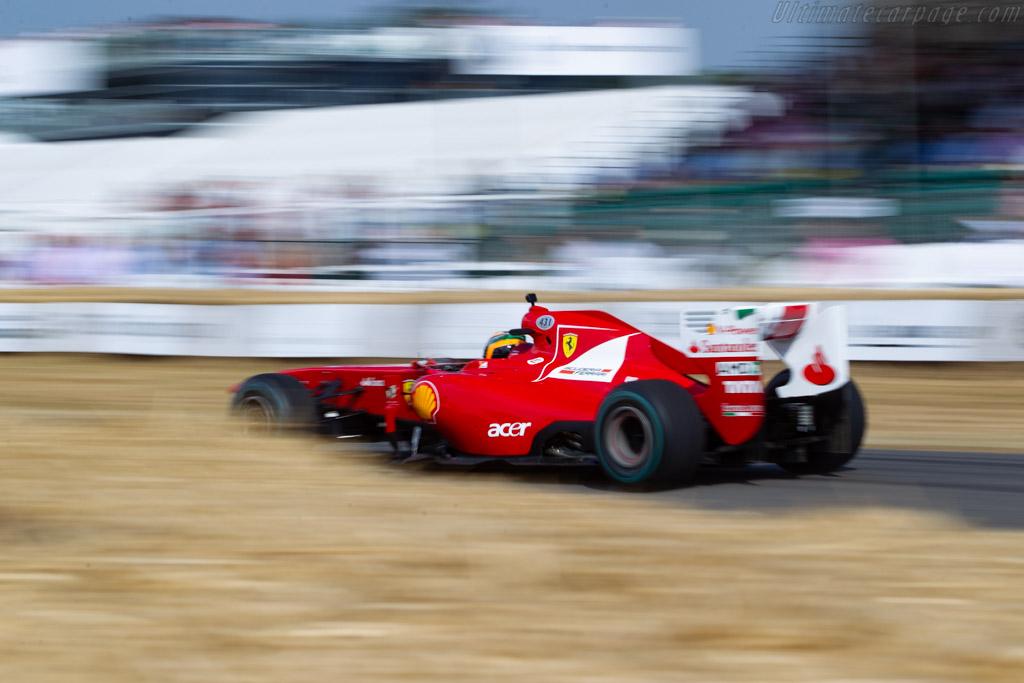 Ferrari F150 Italia - Chassis: 291 - Entrant: Ferrari North Europe  - 2018 Goodwood Festival of Speed