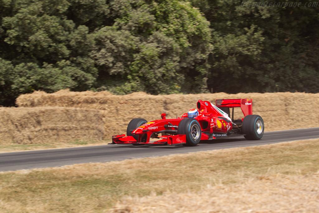 Ferrari F60 - Chassis: 273 - Entrant: Scuderia Ferrari - Driver: Marc Gené  - 2018 Goodwood Festival of Speed