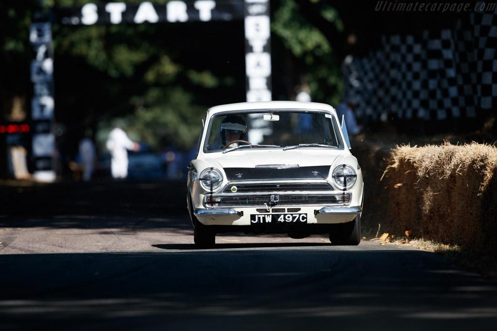 Ford Lotus Cortina  - Entrant: Kevin Clark - Driver: Stuart Clark  - 2018 Goodwood Festival of Speed