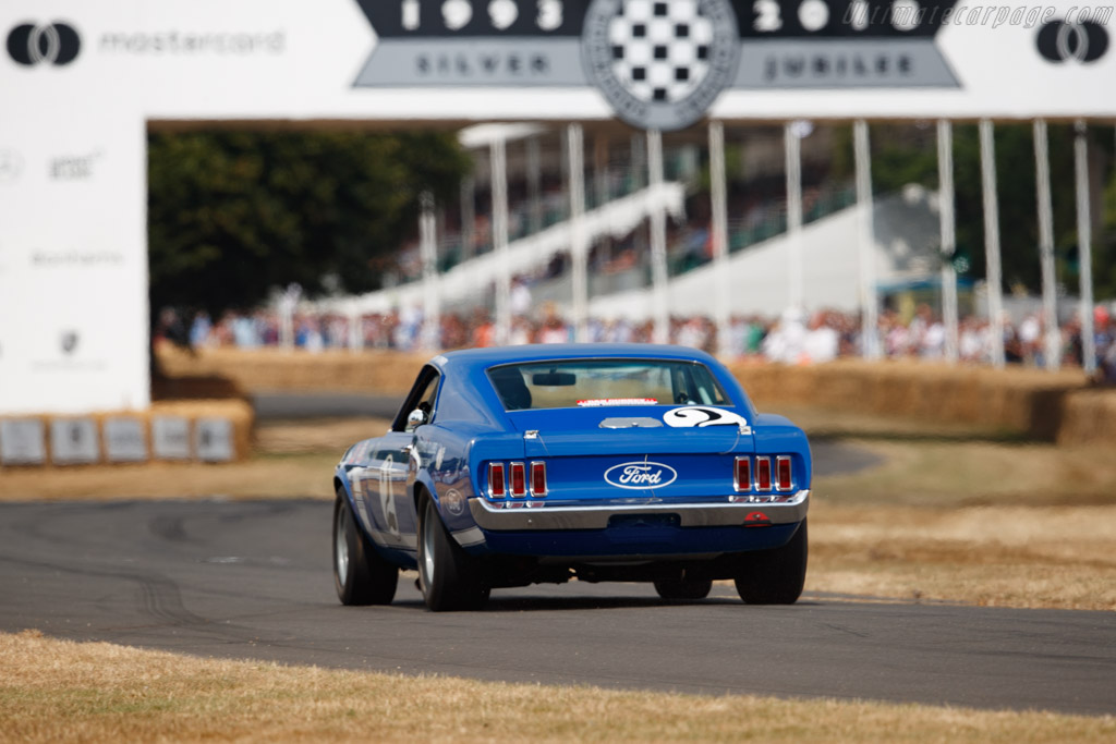 Ford Mustang Boss 302  - Entrant / Driver Don Dimitriadis  - 2018 Goodwood Festival of Speed