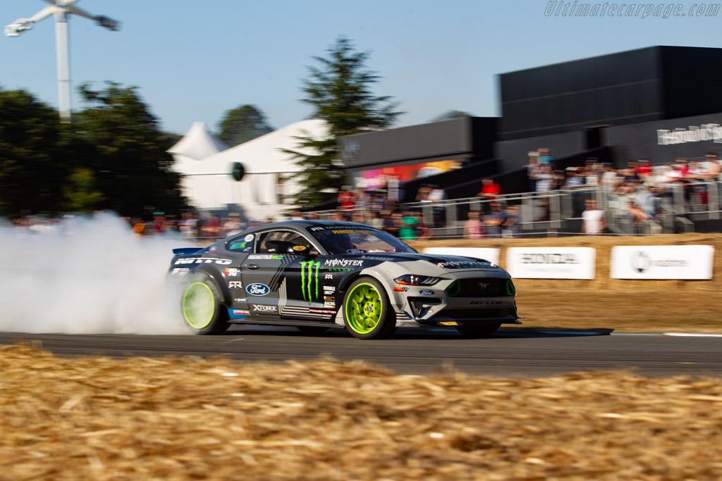Ford Mustang RTR  - Entrant / Driver Vaughn Gittin Jr.  - 2018 Goodwood Festival of Speed