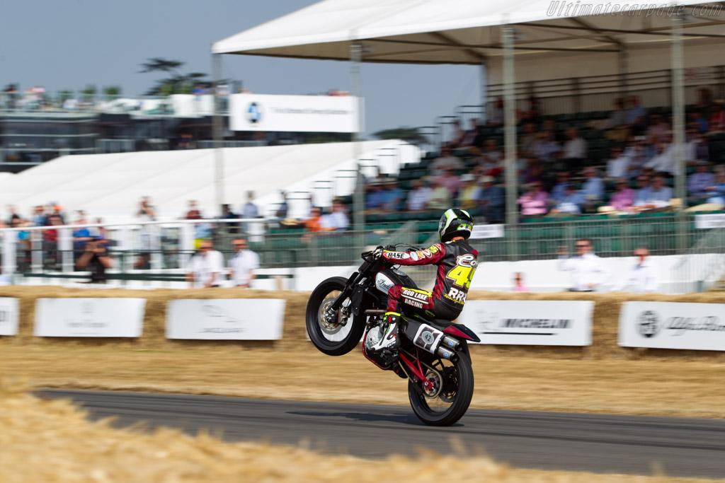 Indian FTR750    - 2018 Goodwood Festival of Speed