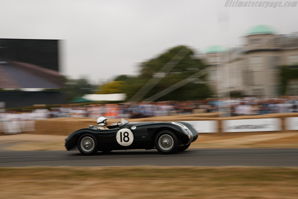 Jaguar C-Type - Chassis: XKC 051 - Entrant: Private Collection - Driver: Gary Pearson  - 2018 Goodwood Festival of Speed