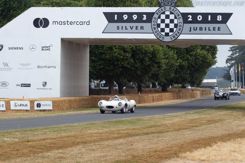Jaguar D-Type - Chassis: XKD 517 - Entrant: FICA FRIO Ltd - Driver: Andy Smith - 2018 Goodwood Festival of Speed